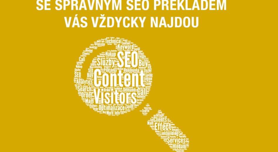 Překladatelé pomáhají firmám sonline marketingem pomocí SEO překladů